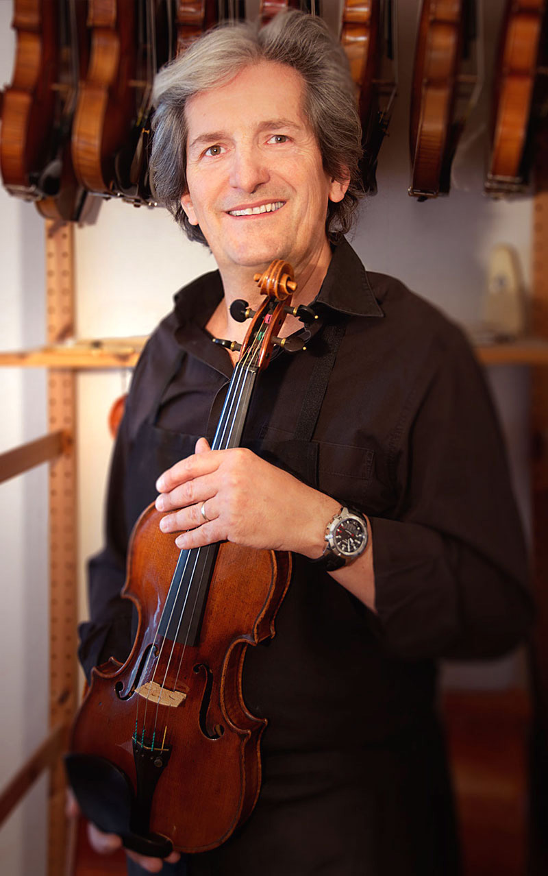 Fabrice Girardin, maître luthier - expert